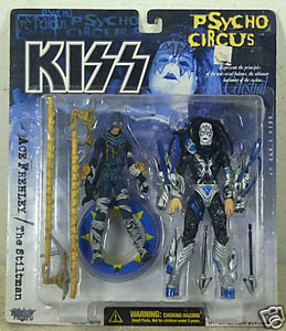 Kiss Psycho Circus Deluxe - Ace Frehley with Stiltman