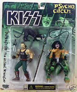 Kiss Psycho Circus Deluxe - Peter Criss with Animal Wrangler