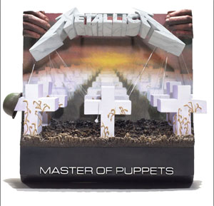 3D Album Cover - Master of Puppets Metallica