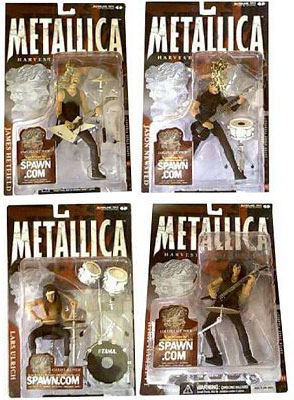 Metallica Figures Set of 4
