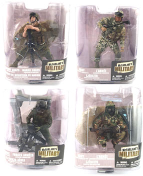 Mcfarlane Military Soldiers Series 6 Set of 4
