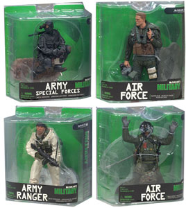 Mcfarlane Military Series 7 Set of 4
