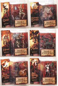 Mcfarlane Monsters Series 4 Twisted Fairy Tales Set of 6