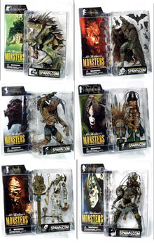 Mcfarlane Monsters Series 1 Set of 6