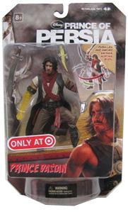 Prince Of Persia - 6-Inch Prince Dastan Exclusive Yellow Arm