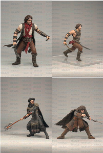 Prince Of Persia - Deluxe Figures Set of 4