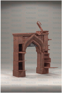 Prince Of Persia - Alamut Gate with Dastan Figure Deluxe Play Set