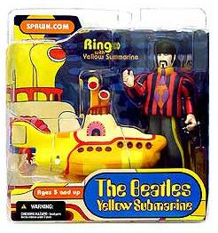 Ringo with yellow submarine