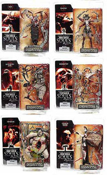 Tortured Souls 2 - The Fallen - Series 2 Set of 6