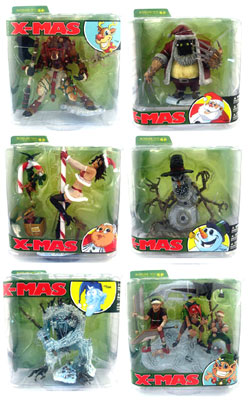 Mcfarlane Monsters Series 5 Twisted X-Mas Tales Set of 6