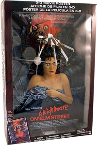 Mcfarlane 3D Movie Poster - Nightmare On Elm Street
