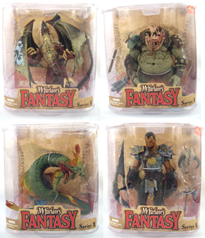 Legend of the Blade Hunters Series 1 Set of 4