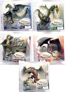 Mcfarlane Dragon Series 2 set of 5