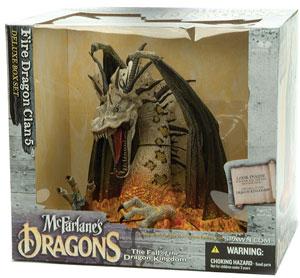 Fire Dragon Clan Dragon 5 Box Set