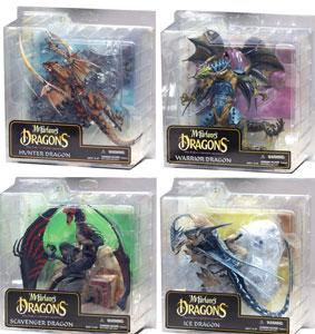 Mcfarlane Dragons Series 6 Set of 4
