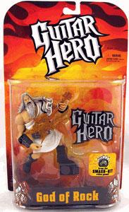 GOD OF ROCK White Toga Gold Guitar Variant