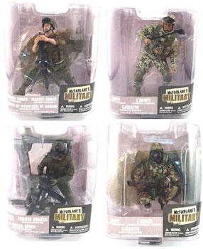 Mcfarlane Military Soldiers Series 6 Set of 4
