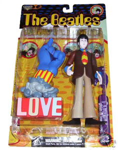 Beatles Yellow Submarine - Paul with Glove and Love Base