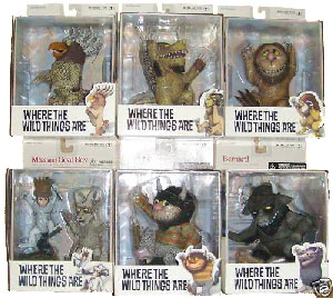 Where The Wild Things Are - Set of 6