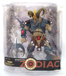 Warrior Of The Zodiac - Aries