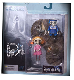 Corpse Bride: Skeleton Girl and Boy