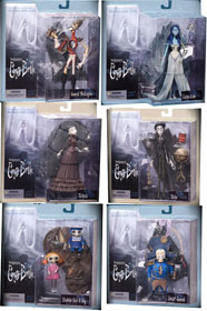 Corpse Bride set of 6