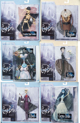 Corpse Bride Series 2 Set of 6