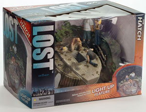 Lost - Hatch Diorama