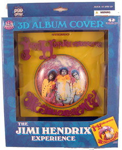 3D Album Cover - Are You Experienced - Jimi Hendrix