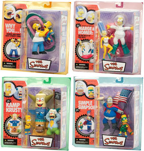 Mcfarlane Simpsons Series 1 Set of 4