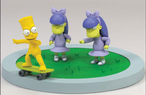 Bart, Sherri, and Terri: Doodle Double Dare