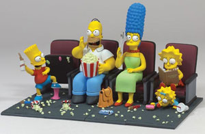Simpsons Movie - Series 1 Set of 4