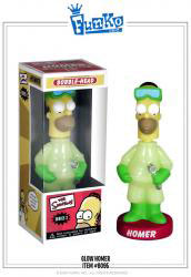Wacky Wobbler - Glowing Homer