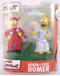 Good & Evil Homer