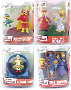 Mcfarlane Simpsons Series 2 Set of 4