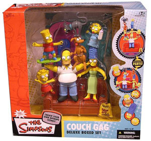 Simpsons Box Set 1 - Family Couch Gag