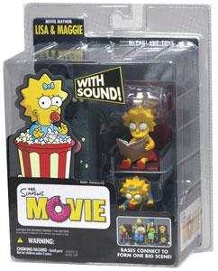 Simpsons Movie - Lisa & Maggie