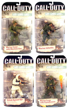 Call Of Duty - World At War Series 1 Set of 4