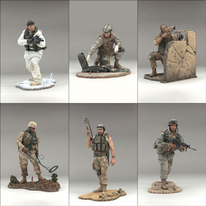Mcfarlane Military Soldiers Series 4 Set of 6