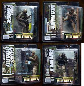Mcfarlane Military Soldiers Series 5 Set of 4