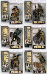 Mcfarlane Soldier Redeploy Series 2 Set of 6
