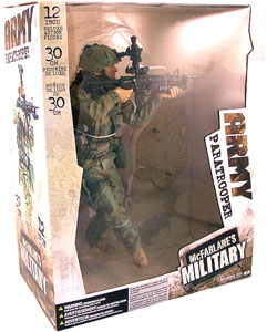 12-Inch MILITARY PARATROOPER