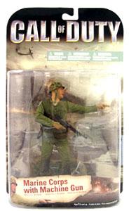 Call Of Duty - Battle Of Okinawa - Marine Corps with Machine Gun