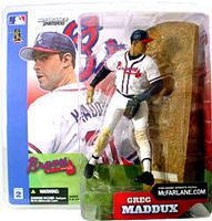 Greg Maddux - Braves - White Jersey Regular