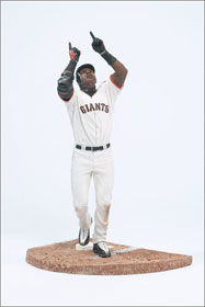 12 Inch Barry Bonds - White Jersey - Giants