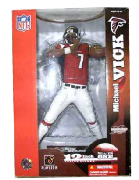 12-Inch Michael Vick Red Jersey Variant