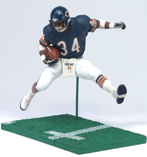 NFL Legends 12-Inch Walter Payton Blue Jersey - Chicago Bear