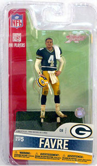 3-Inch Brett Favre 3 - Green Bay Packers