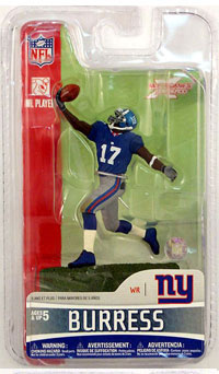 3-Inch Plaxico Burress - New York Giants