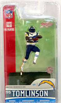 3-Inch Ladainian Tomlinson 2 - San Diego Chargers